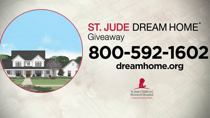 The St. Jude Dream Home will be a modern, farm house-style custom home, boasting 4 bedrooms and...