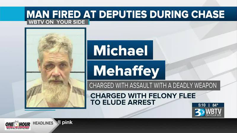 Man fired at deputy during multi-county chase, authorities say