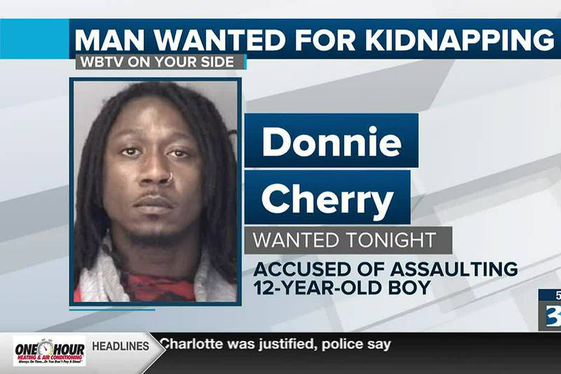 Man wanted for kidnapping in Mooresville