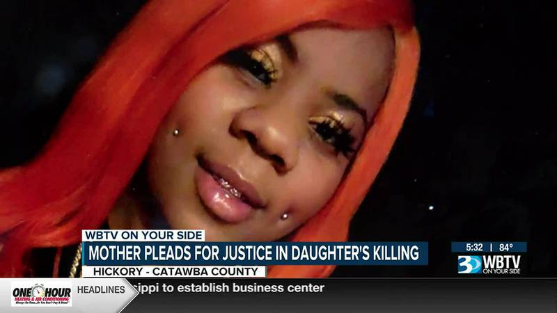Hickory mother pleads for justice in daughter's killing