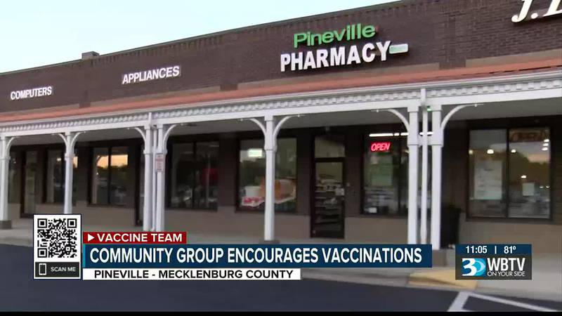 Community groups partnering to host vaccine clinic in Pineville Saturday