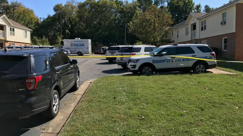 CMPD is investigating a homicide at a north Charlotte apartment complex.
