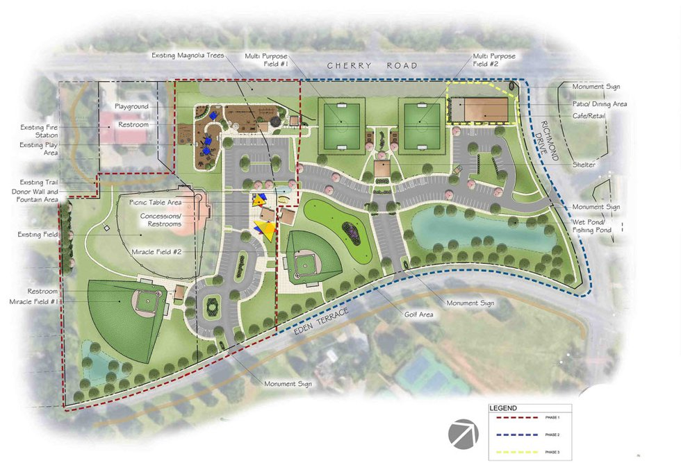 Miracle park is a 15-acre, $8 million facility that has been more than two years in the making.