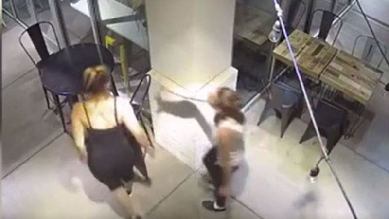 CAUGHT ON VIDEO: Two women steal patio furniture from Charlotte business