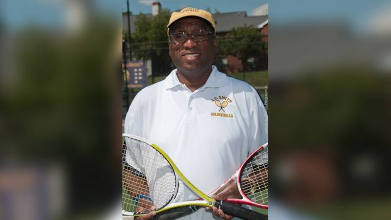 Longtime Johnson C. Smith University tennis coach and six-time CIAA champion James Cuthbertson...