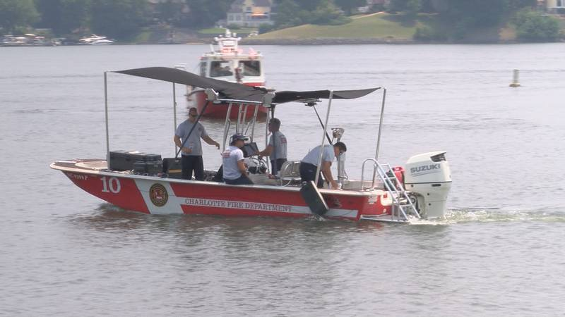 Police say a body believed to be a missing 73-year-old boater was found in Lake Wylie on Friday.