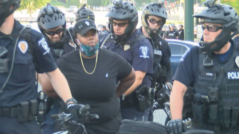Charlotte criminal defense attorney, Darlene Harris, continues to help represent protesters who...