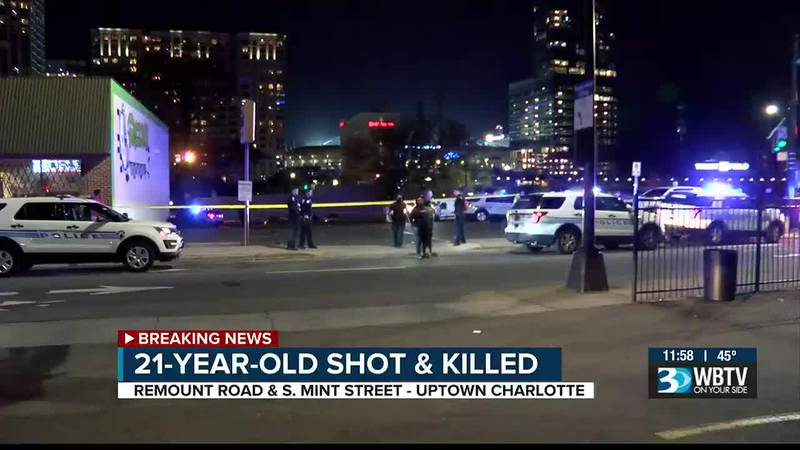 21-year-old fatally shot and killed in southwest Charlotte before driving to uptown and...