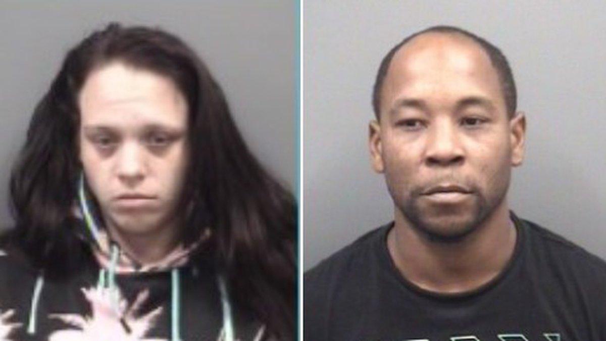 Brandy Rena Evans, 31, and Apollo Alvondeo Crisco, 35, were charged.
