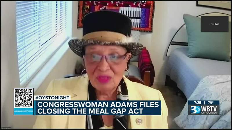 N.C. congresswoman Alma Adams files 'Closing the Meal Gap Act'