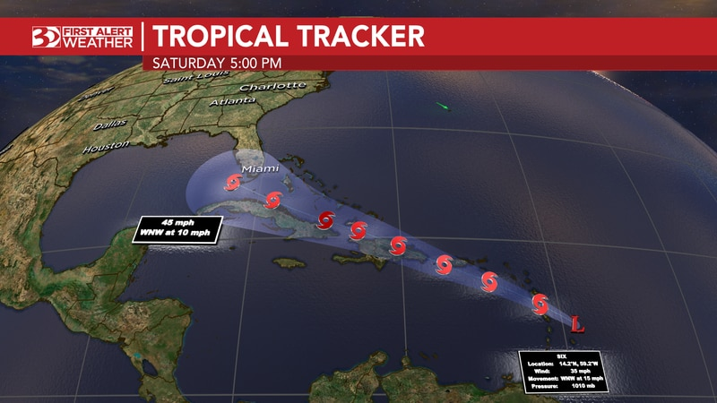 Potential Tropical Cyclone 6