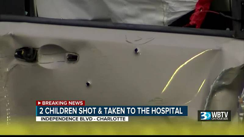 2 minors, including child younger than 5, seriously injured in shooting on Independence Boulevard