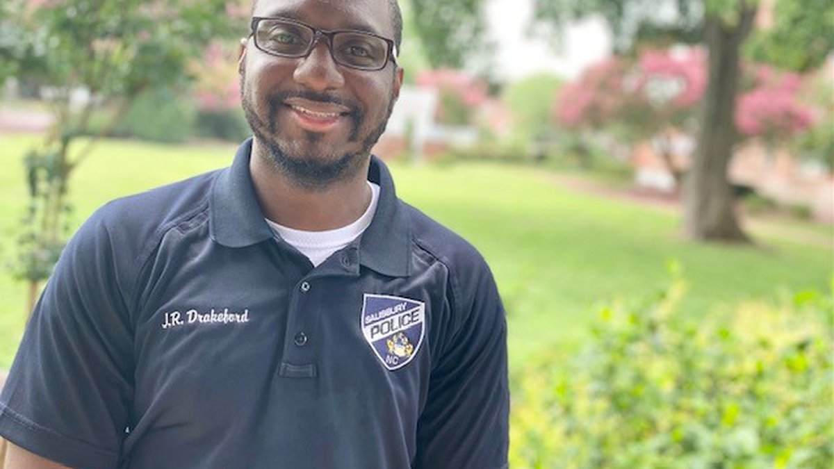 Detective J.R. Drakeford joined Salisbury Police in 2018 after serving two years as a public...
