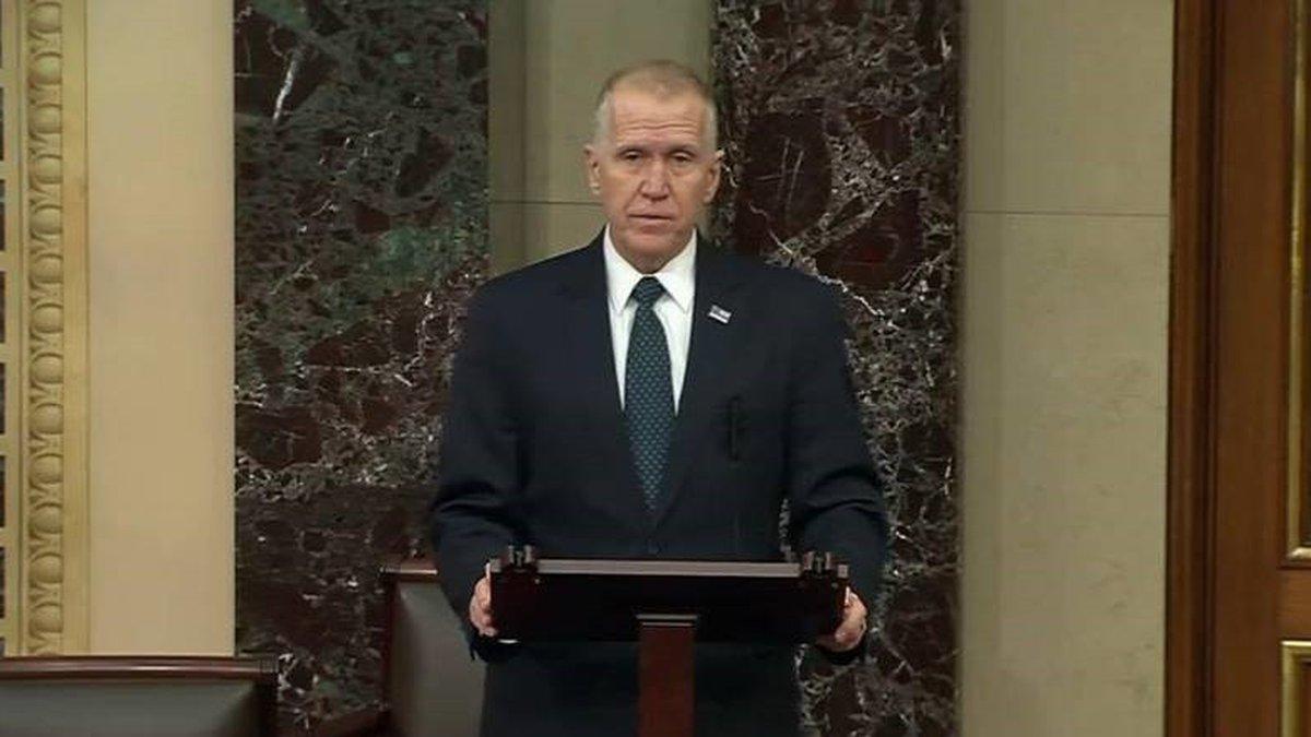 North Carolina U.S. Senator Thom Tillis is urging the passage of a legislation that would...