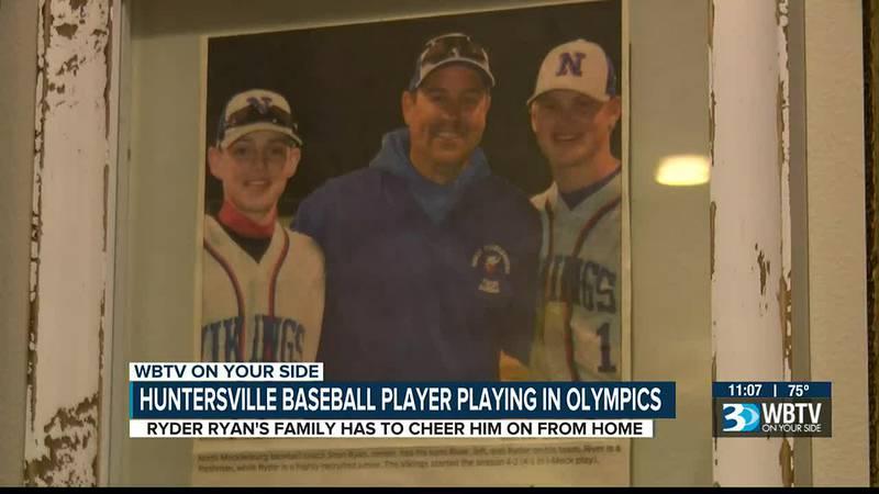 Huntersville pitcher making Olympics debut