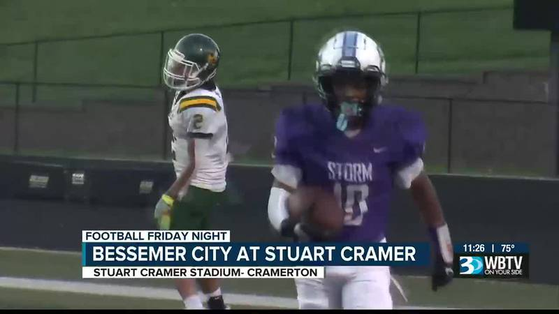 After losing in week 1, Stuart Cramer picks up a bounce back win over Bessemer City to even...