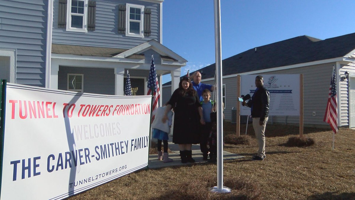 A Brunswick County Gold Star family received a new home, mortgage-free, just in time for...
