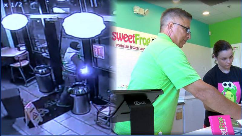 Sweet Frog in Huntersville robbed for 2nd time