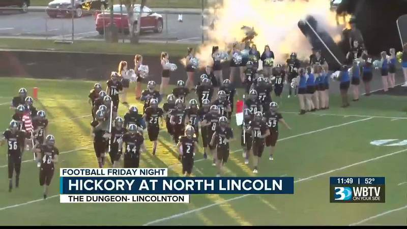 Big conference win for North Lincoln as they beat Hickory to even their conference record.