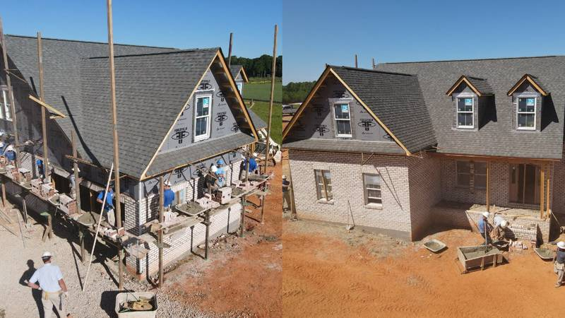 The Dream Home is being built on Sincerity Road in Monroe in the Sabella Estates neighborhood.