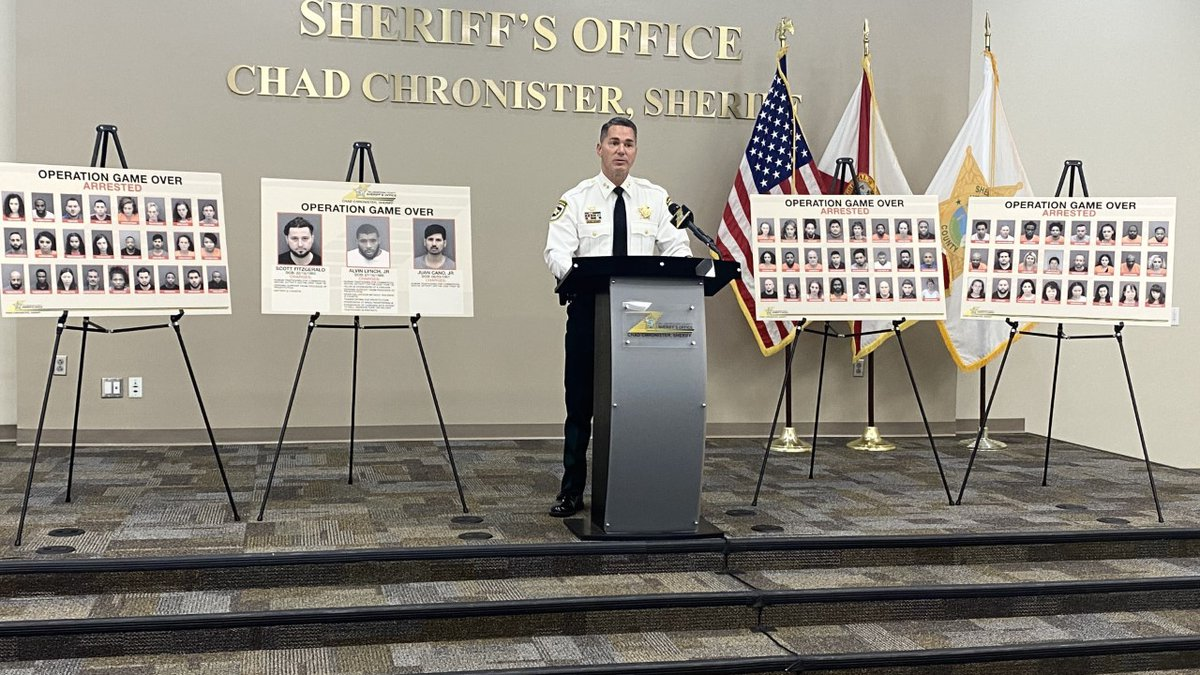 The Hillsborough County Sheriff's Office made 70 arrests for Human Trafficking during Super...