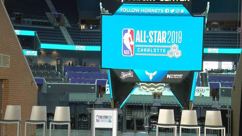 Charlotte preparing for 2019 NBA All-Star game