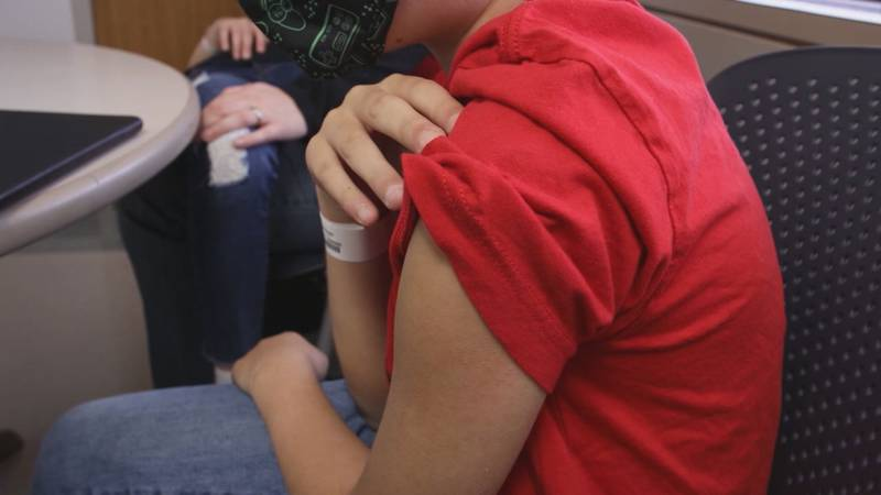 Moderna says it's vaccine is highly effective for children between the ages of 12 and 17. The...