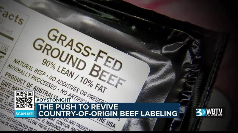 """Lawmakers arguing to bring back mandatory """"country of origin"""" beef labeling"""