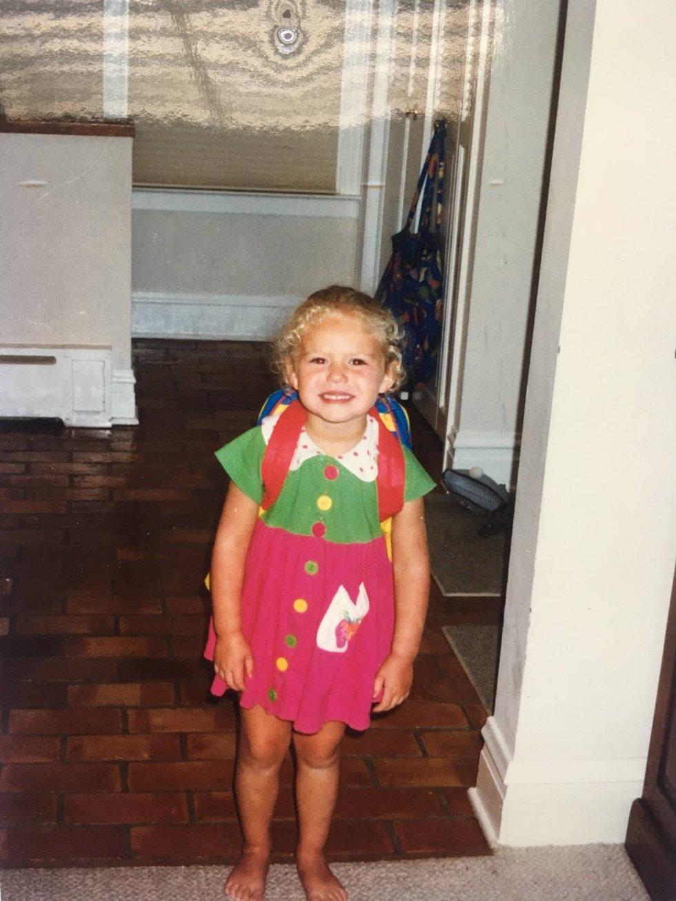Caroline Hicks back-to-school ready!