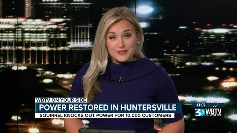 Squirrel causes major power outage around Huntersville, Cornelius