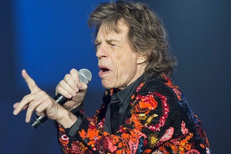 FILE - In this Oct. 22, 2017 file photo, Mick Jagger of the Rolling Stones performs during the...