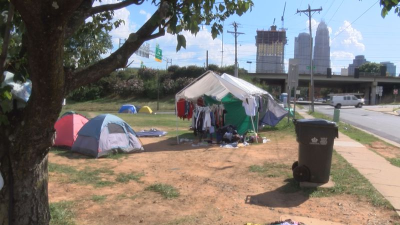 The fear of being kicked out Tent City started to grow right around the time a police tower...