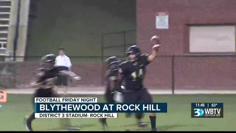 Rock Hill picks up their 2nd win of the season with a thrilling victory over Blythewood.