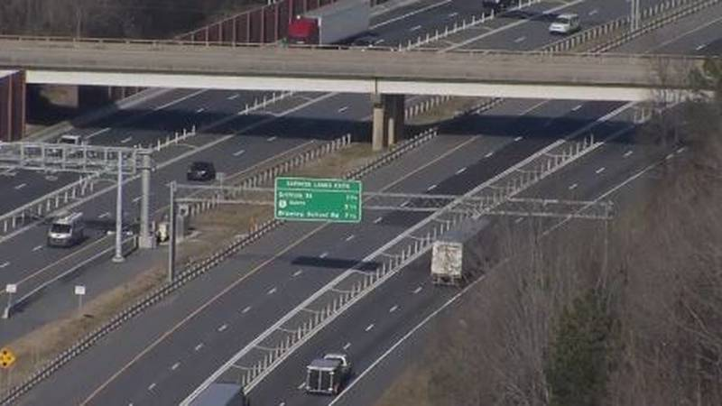 Another driver was detoured on I-77, took the express lanes, and was billed