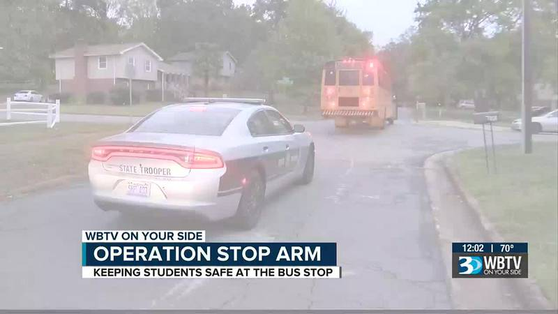 N.C. State Highway Patrol conducting 'Operation Stop Arm'