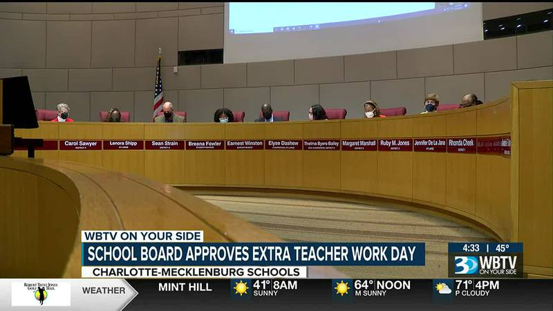 CMS Board of Education votes to make Nov. 1 a teacher workday