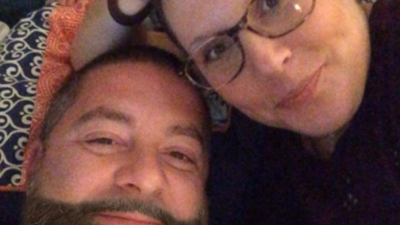 Veteran firefighter Jeff Hager and his wife Amee tested positive for COVID-19 on Aug. 23. They...
