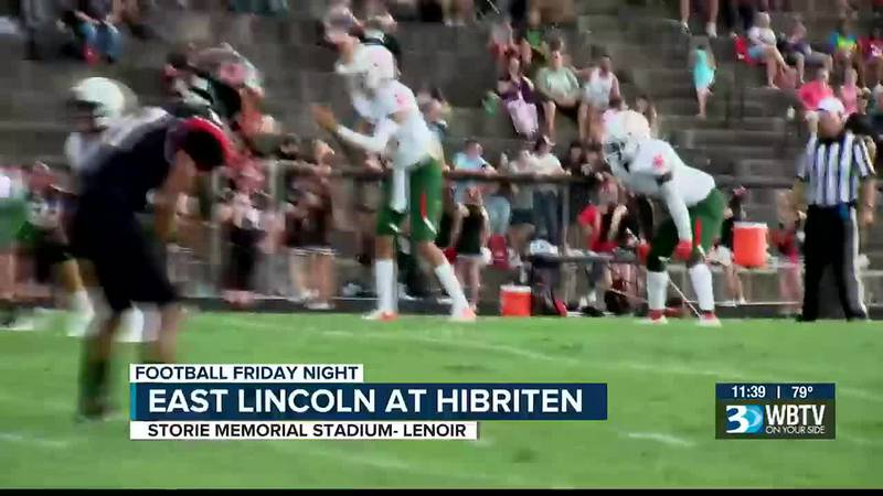 In a match up between 2 program making the jump from 2A to 3A, East Lincoln would grab a big...