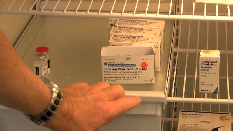 The warning will be listed in paperwork given to people getting the J&J vaccine.