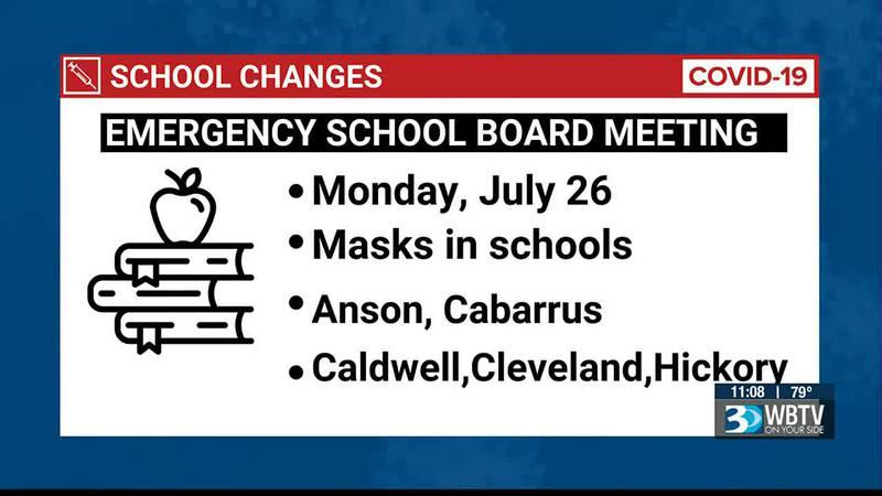 Mooresville School District votes to make masks optional