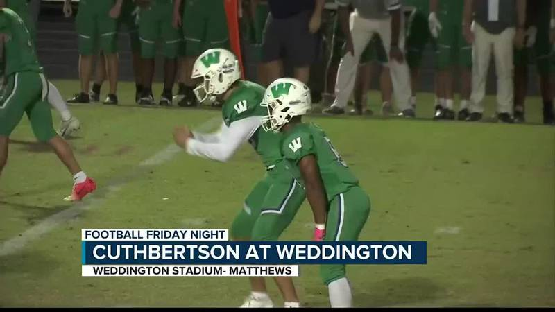 Comeback win for Weddington as they beat Cuthbertson to stay undefeated in conference play.