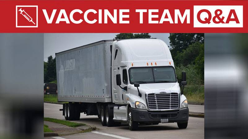 Do truck drivers in 'transportation industry' qualify for COVID-19 vaccine?