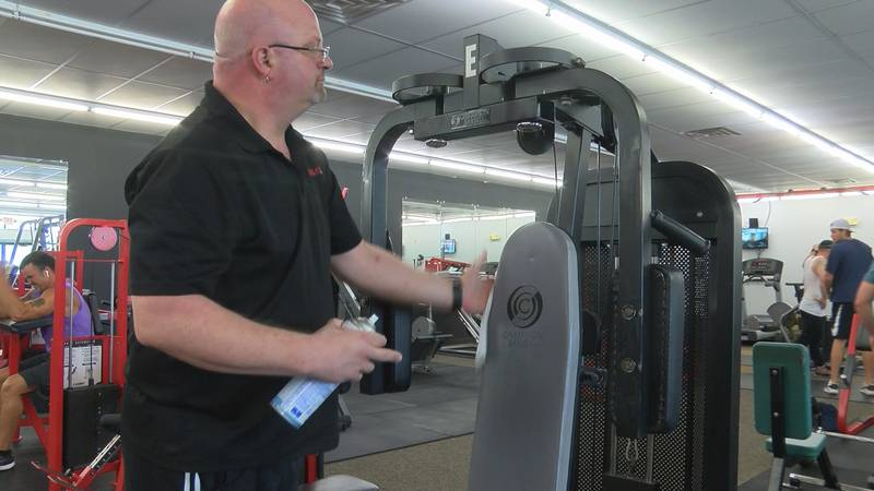 Muscleworx Fitness owner said he re-opened the gym out of financial necessity.
