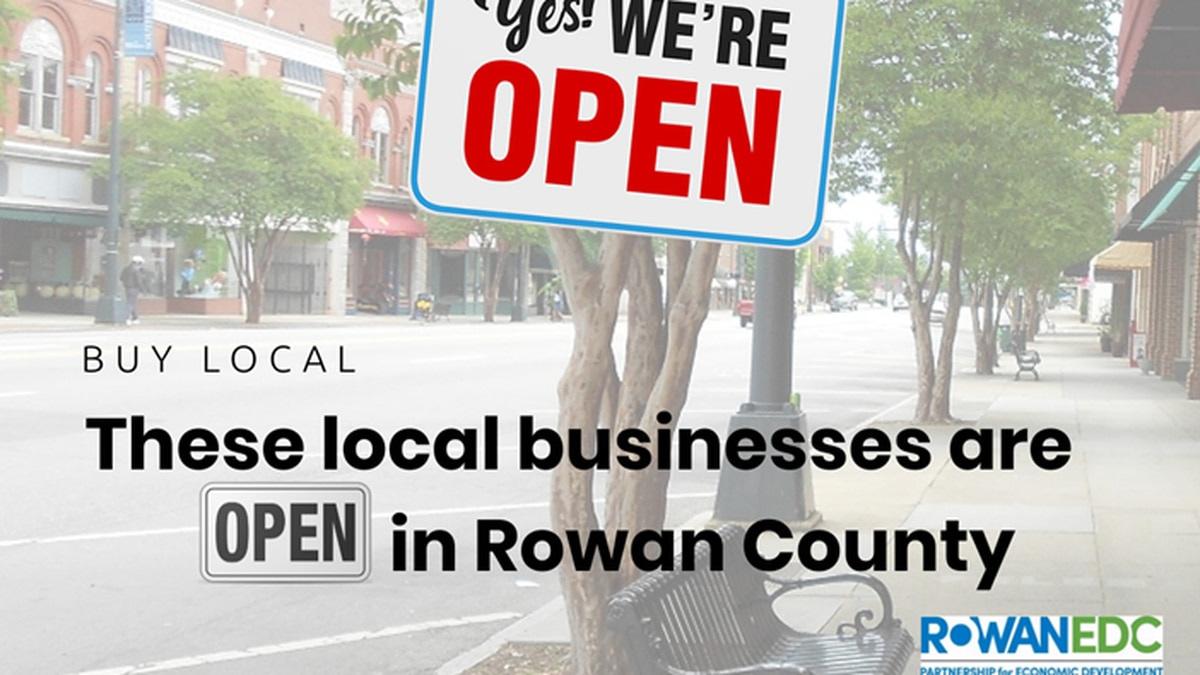 It ensures customers can find open restaurants, stores, and services in Rowan County at no...