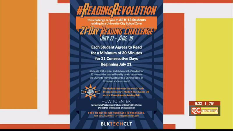 2021 Reading Challenge in University City