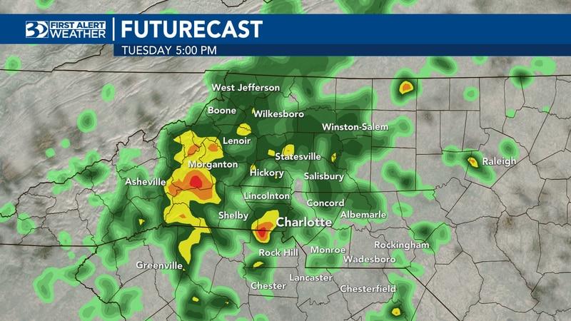 Jason Myers Sunday evening forecast
