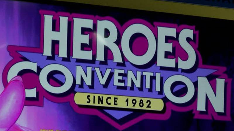 The 2019 Heroes Convention is set for Friday, June 14 through Sunday, June 16.