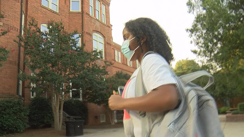 School administrators at Johnson C. Smith University are requiring that all students be...