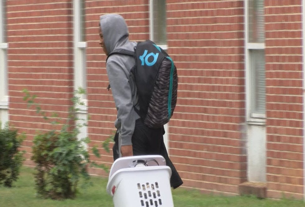 Students leave Clinton College due to Hurricane Florence