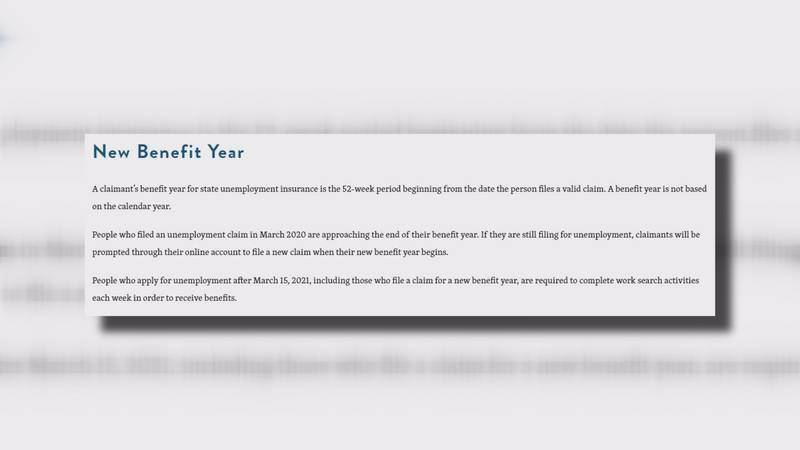 As some jobless North Carolinians approach one year of unemployment, they're being prompted to...